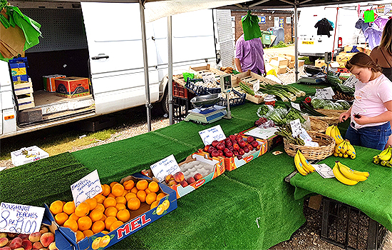 St Osyth Sunday Market Clacton Food Stalls Amusements